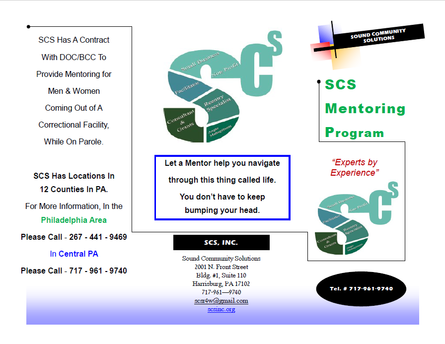 Mentoring Program Brochure 1